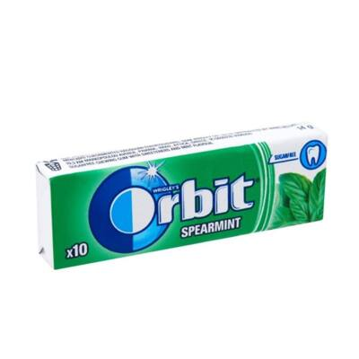 Rágógumi ORBIT Spearmint 14g