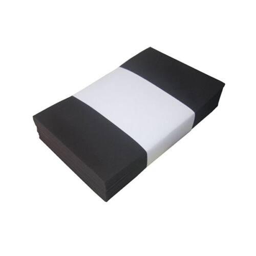 Névjegyboríték színes KASKAD enyvezett 70x105mm 99 fekete 50 db/csomag