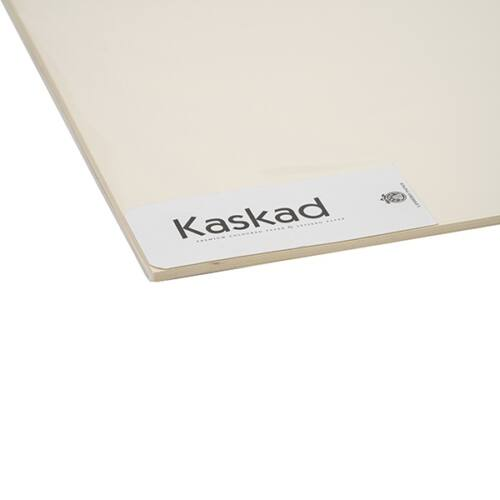 Dekorációs karton KASKAD 45x64 cm 2 oldalas 225 gr vanília 12 100 ív/csomag