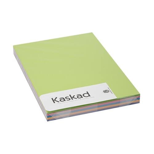 Dekorációs karton KASKAD A/4 160 gr intenzív vegyes színek 5x25 ív/csomag
