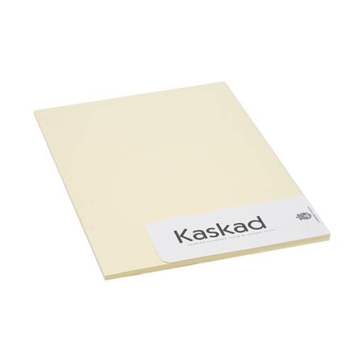 Névjegykártya karton KASKAD A/4 2 oldalas 225 gr sárga 55 20 ív/csomag