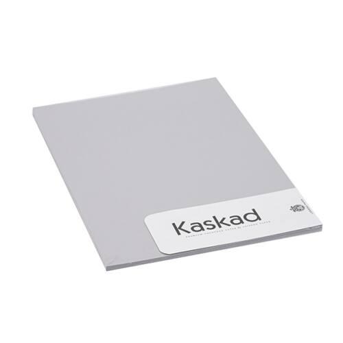 Névjegykártya karton KASKAD A/4 2 oldalas 225 gr ezüstszürke 94 20 ív/csomag
